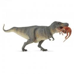 Συλλεκτικές Φιγούρες Δεινοσαύρων, Συλλεκτικοί Δεινόσαυροι Τυραννόσαυρος Ρεξ με θήραμα – Στρουθιόμιμος