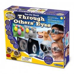Γυαλιά με Πρισματικούς Φακούς Πώς Βλέπουν τα Ζώα - Brainstorm Toys