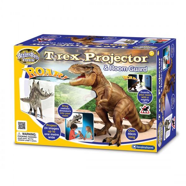 T-REX Δεινόσαυρος Προτζέκτορας με Ήχο - Brainstorm Toys