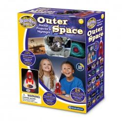 Προτζέκτορας Πύραυλος με Φωτάκι Νυχτός - Brainstorm Toys