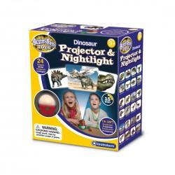 Προτζέκτορας με Δεινοσαύρους και Φωτάκι Νυκτός - Brainstorm Toys