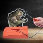 Δεινόσαυρος T-REX 2 σε 1 Buzz Wire - Brainstorm Toys