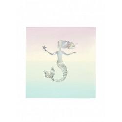 Mermaid Χαρτοπετσέτα Μεγάλη
