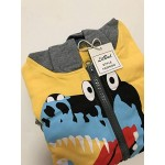 Παιδική Ζακέτα Με Κουκούλα Για Αγόρια - Παιδική Ζακέτα Με Δεινόσαυρο