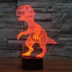 Μοντέρνο Φωτιστικό για Παιδικό Δωμάτιο σε Σχήμα Δεινόσαυρου - Παιδικές Λάμπες Νυκτός / Γραφείου Για Δωμάτιο Αγοριού 3D T-Rex Δεινόσαυρος