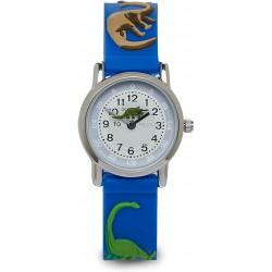 Παιδικά Ρολόγια Χειρός 3D Με Δεινόσαυρο - Μπλε Χρώμα - Ρολόι Για Αγόρια και Κορίτσια