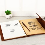 Γυναικείο Σημειωματάριο Με Κρίκους και Σκληρό Εξώφυλλο - Καφέ Χρώμα - Δώρο Για Γυναίκες