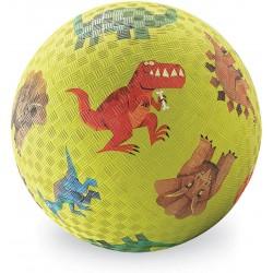 Μπάλα από Καοτσούκ - Μικρό Μέγεθος Διάμετρος 13 εκατοστά - Με Σχέδια Δεινοσαύρων