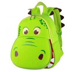 Παιδική Τσάντα Πλάτης - Πράσινος Δεινόσαυρος 3D - Δώρο για Αγόρια και Κορίτσια