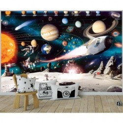 Δωμάτιο για αγόρι με θέμα το διάστημα